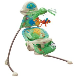 Fisher price rainforest babyschaukel for Altalena amazon
